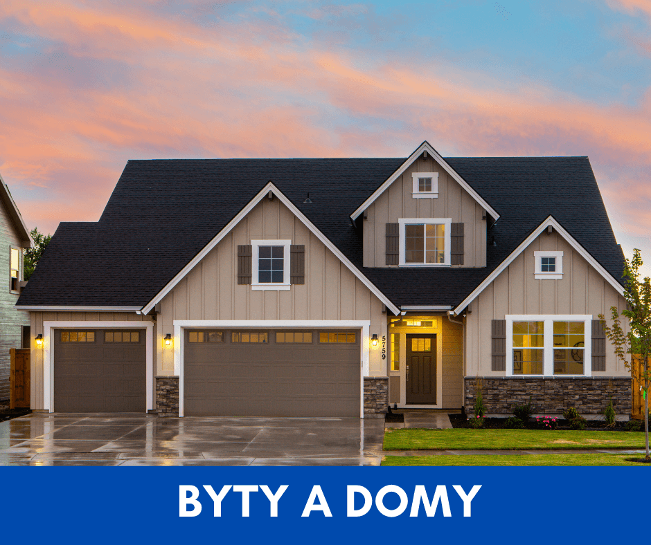 byty a domovy